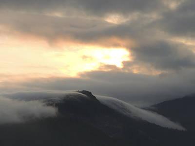 Photograph - Drifting Sunset #3 by Nootka Sound