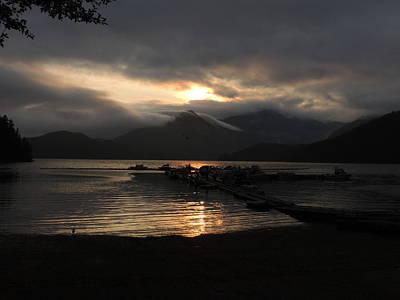 Photograph - Drifting Sunset by Nootka Sound