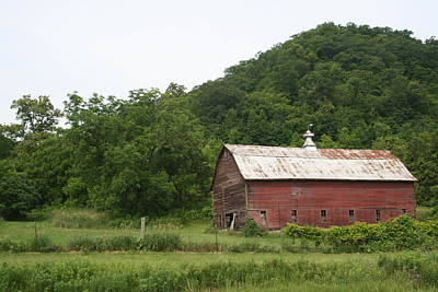 Photograph - Driftless Barn by Dylan Punke