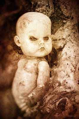 Photograph - Driftwood Doll by WB Johnston