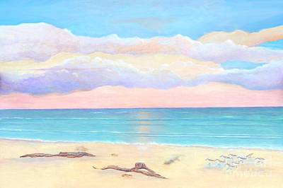 Painting - Driftwood Beach by Frances  Dillon