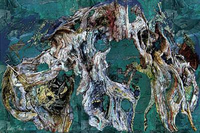 Digital Art - Driftwood by Helga Schmitt