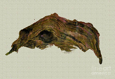 Loose Style Mixed Media - Driftwood by Orla Cahill