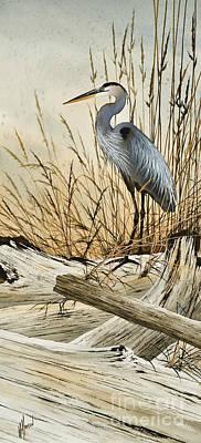 Splendor Painting - Driftwood Splendor by James Williamson