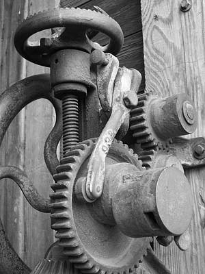 Photograph - Drill Press by Caryl J Bohn