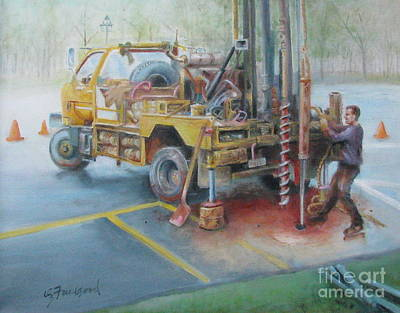 Painting - Drill,drill,drill by Oz Freedgood