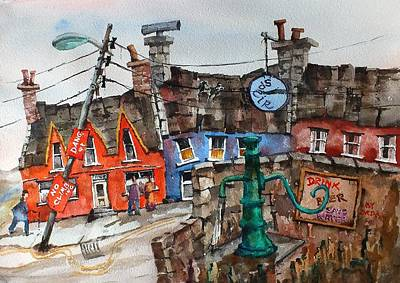 Painting - Drink Beer Save Water In Eyeries....vb744 by Val Byrne