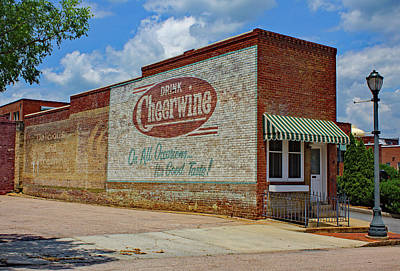 Photograph - Drink Cheerwine Color 10 by Joseph C Hinson Photography