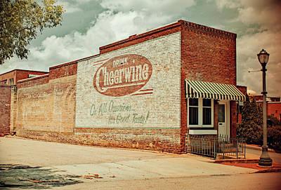 Photograph - Drink Cheerwine Vintage 10 by Joseph C Hinson Photography