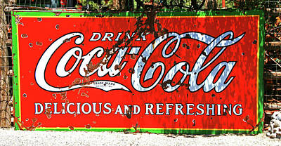 Photograph - Drink Coca Cola by Allen Beatty