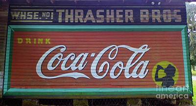 Photograph - Drink Coca Cola by D Hackett