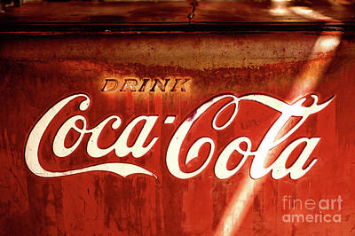 Photograph - Drink Coca-cola by Miles Whittingham