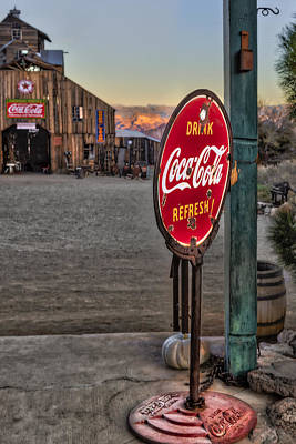 Photograph - Drink Coca Cola Refresh by Susan Candelario
