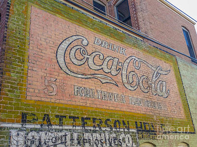 Photograph - Drink Coca Cola by Tony Baca