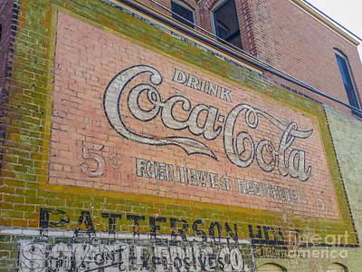 Photograph - Drink Coca Cola by Tony Baca