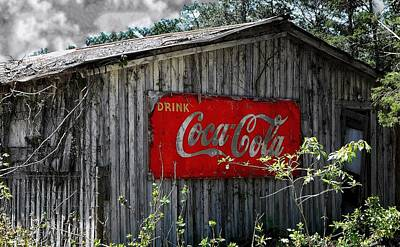 Photograph - Drink Cocacola by Paul Wilford