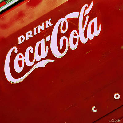 Photograph - Drink Coke by Heidi Smith