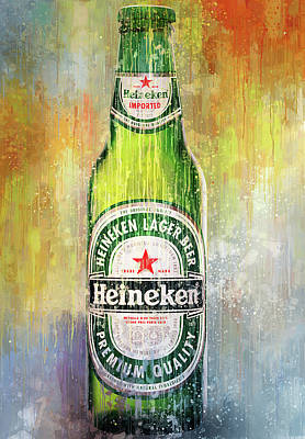 Digital Art - Drink Heineken by Yury Malkov