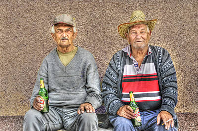 Drinker Photograph - Drinking Buddies by Don Wolf