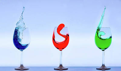 Drinks With Flair Art Print