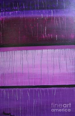 Painting - Purple Rain by Jimmy Clark