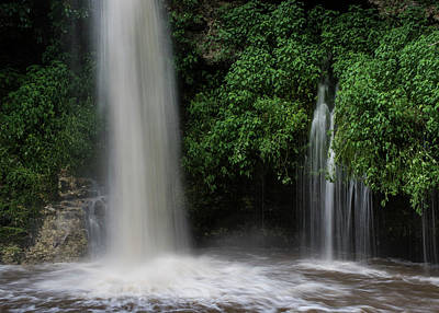 Photograph - Dripping Springs And Falls by Robert Potts