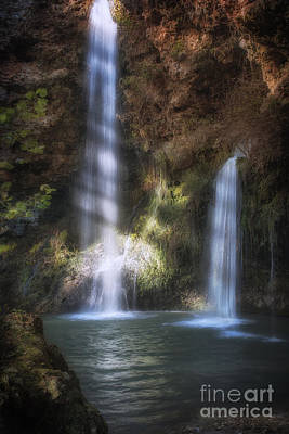 Photograph - Dripping Springs Falls by Tamyra Ayles