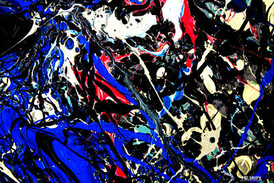 Painting - Dripx 35              by Mr DripX