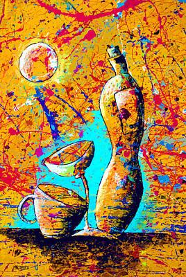 Dripx 75 Art Print