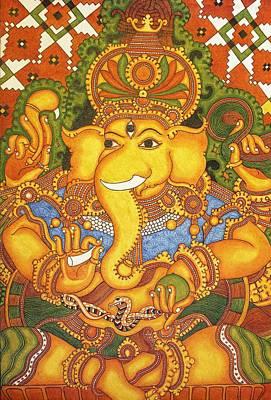 Drishti Ganapathi The Elephant Headed Hindu God Of Good Omens Original