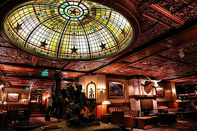 Photograph - Driskill Bar Area by Judy Vincent