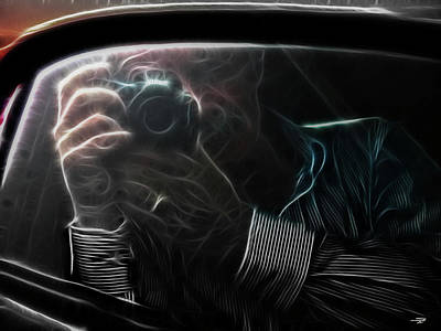 Photograph - Drive By Shooter by Stuart Turnbull