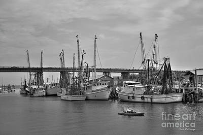 Photograph - Drive By Tybee Island Shrimp Boat Art by Reid Callaway