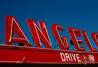 Photograph - Drive In- California  by April Bielefeldt