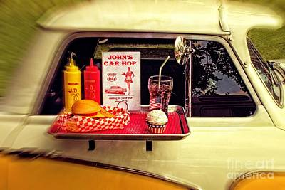 Photograph - Drive-in by Doc Braham