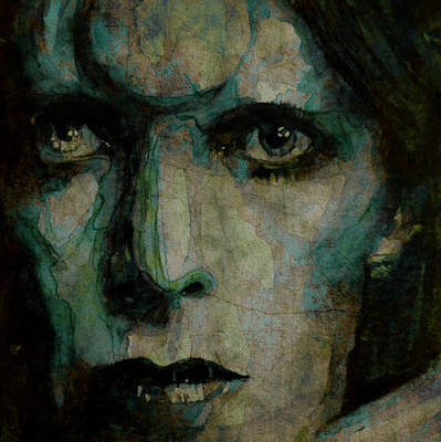 David Bowie Painting - Drive In Saturday@ 2 by Paul Lovering