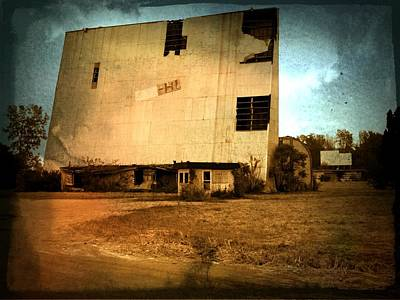 Old Drive In Photograph - Drive In Yesterday by Michael L Kimble