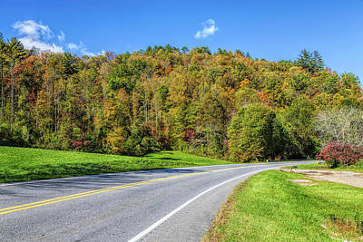 Photograph - Drive Into Fall by John M Bailey