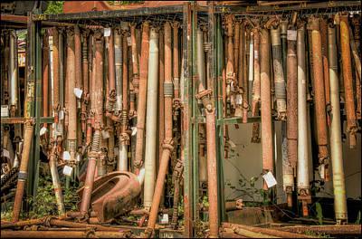 Photograph - Drive Shafts  by LeeAnn McLaneGoetz McLaneGoetzStudioLLCcom