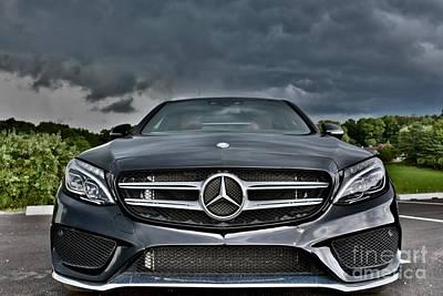 Editoria Photograph - Drive Through The Storm by Jeramey Lende