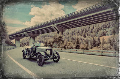 Drive To The Brenner Pass Print by Duschan Tomic