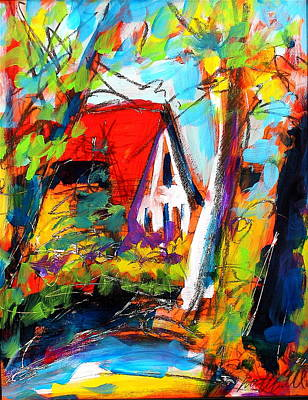 Painting - Driveway Revisited by Les Leffingwell