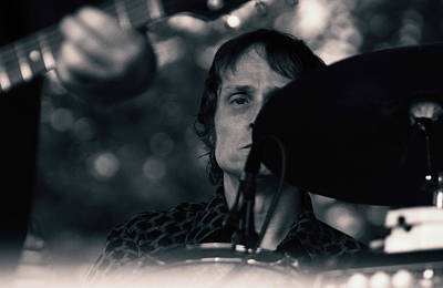 Photograph - Drivin' N Cryin' Ngab B W 22 by Joseph C Hinson Photography