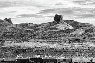 Photograph - Driving America Bw Wyoming  by Chuck Kuhn