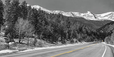 Photograph - Driving Peak To Peak Panoramic View by James BO Insogna