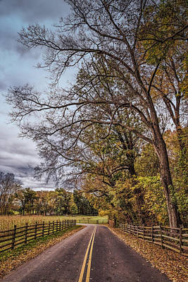 Photograph - Driving Through Antietam by John M Bailey