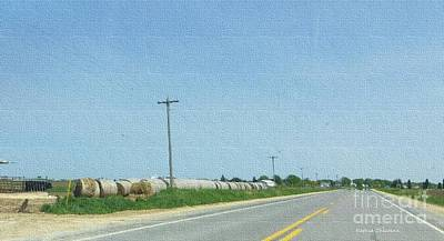 Photograph - Driving Through Flatlands by Kathie Chicoine