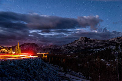 Photograph - Driving Tioga Road by Cat Connor