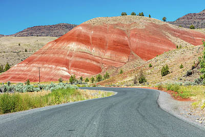Photograph - Driving To Painted Hills by Pierre Leclerc Photography