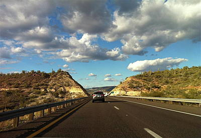 Photograph - Driving To Sedona by Denise Mazzocco